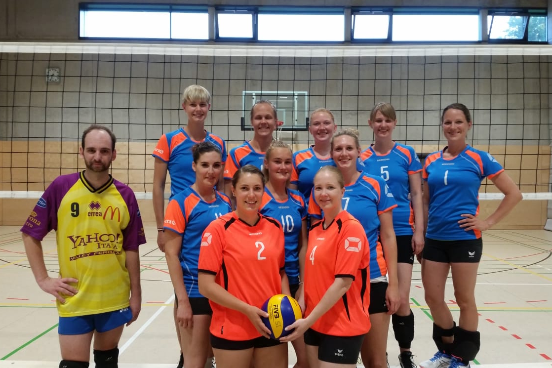 Damen 1 2018 SV Salamander Kornwestheim Volleyball