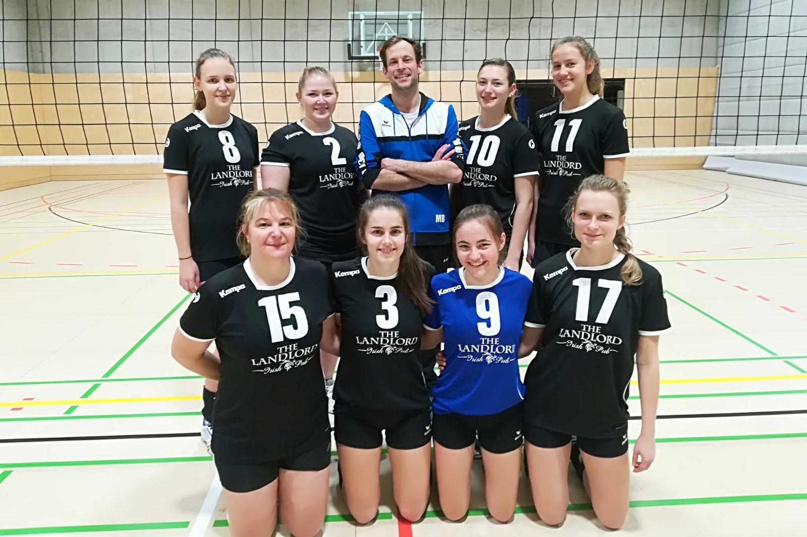 Damen 2 12.2018 SV Salamander Kornwestheim Volleyball