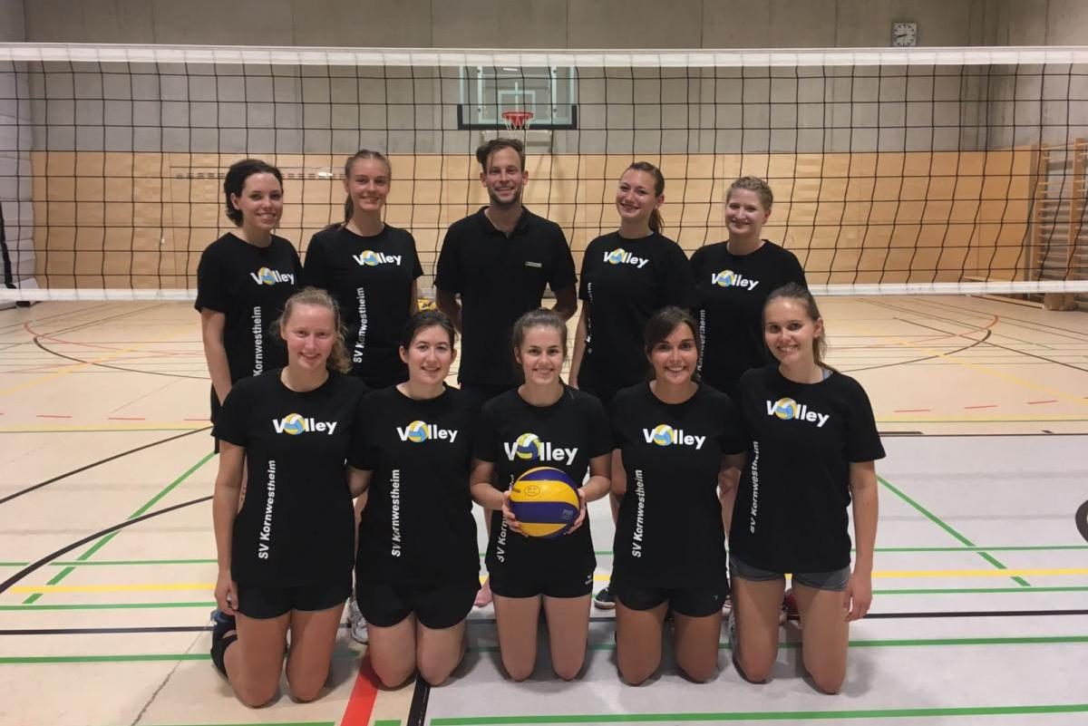 Damen 2 Saison2018 SV Salamander Kornwestheim Volleyball
