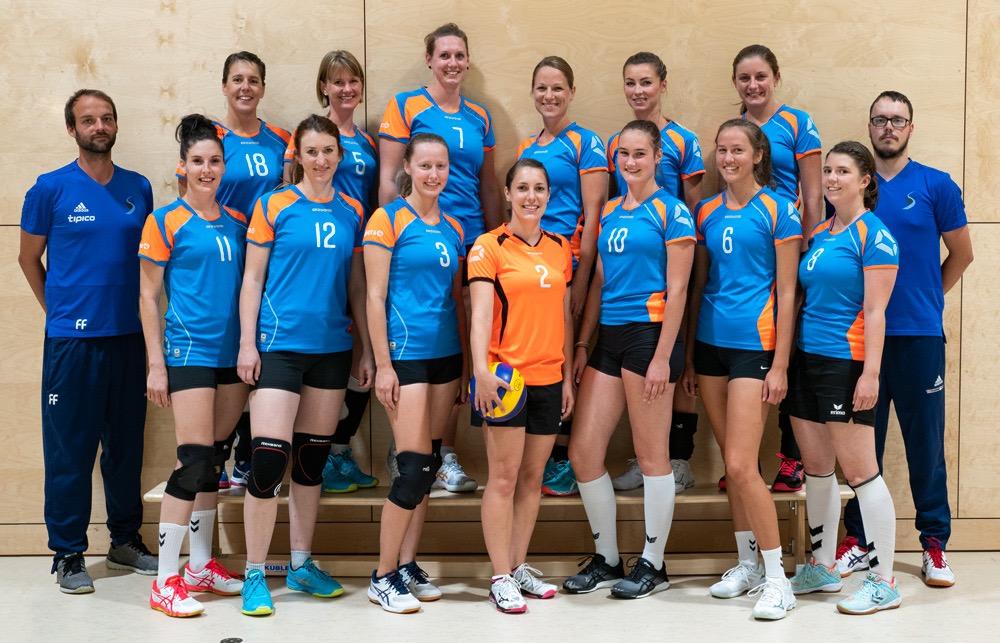 Damen 1 2018 SV Salamander Kornwestheim Volleyball Mannschaftsfoto