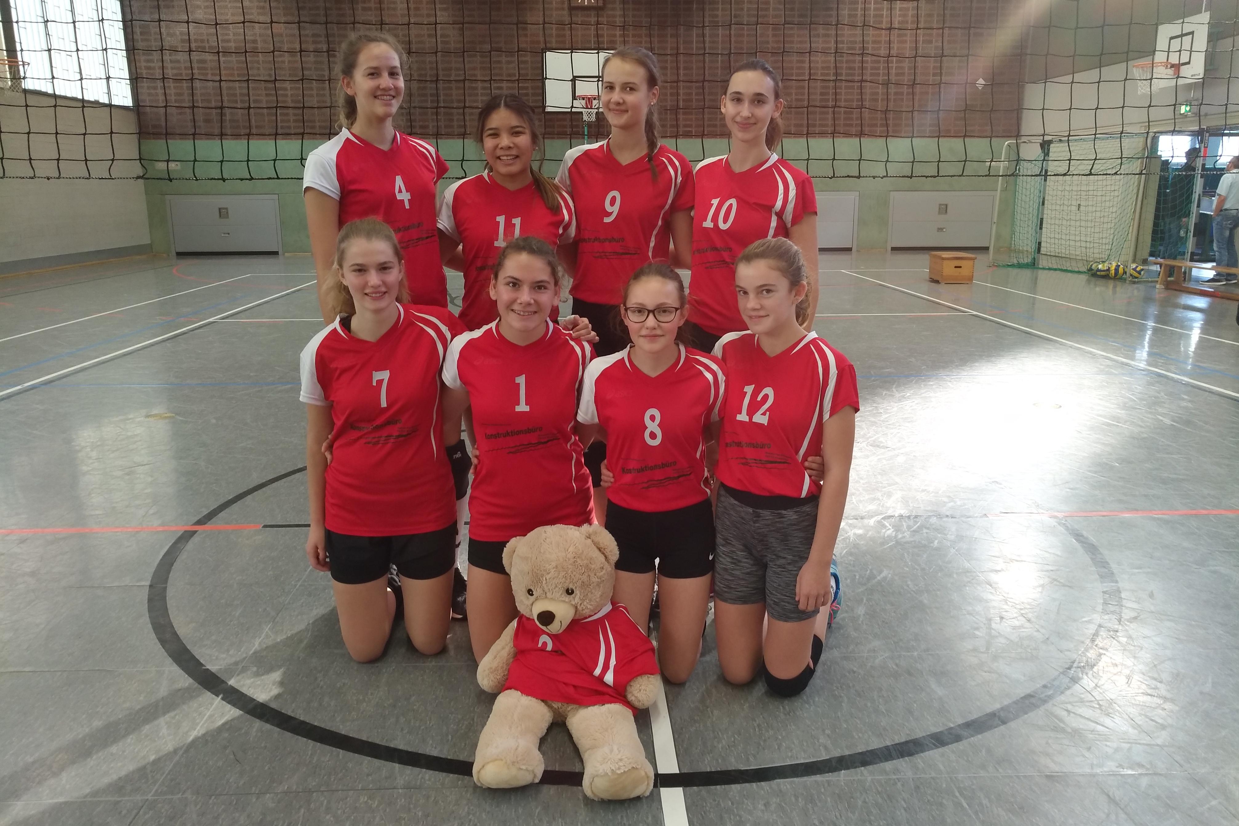 11.11.2018 Mannschaftsfoto U18 weiblich SV Salamander Kornwestheim Volleyball