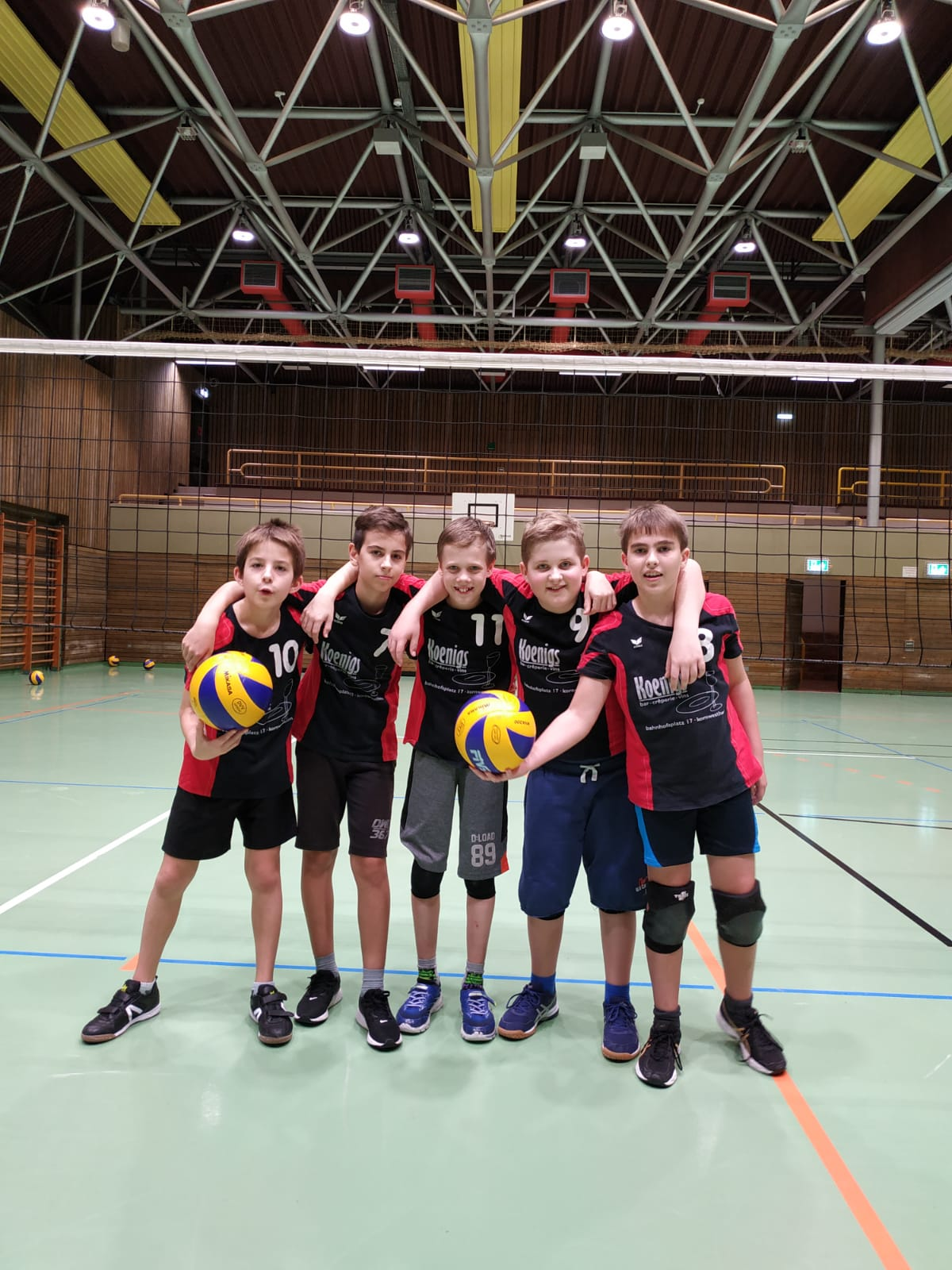 SVK Volleyball U14m 2020