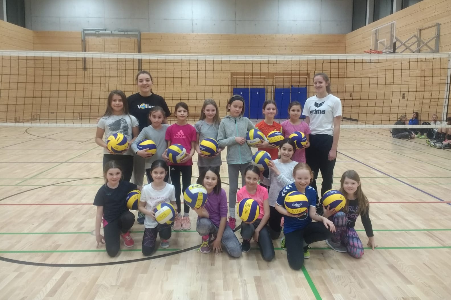 U13 2019 SV Salamander Kornwestheim Volleyball