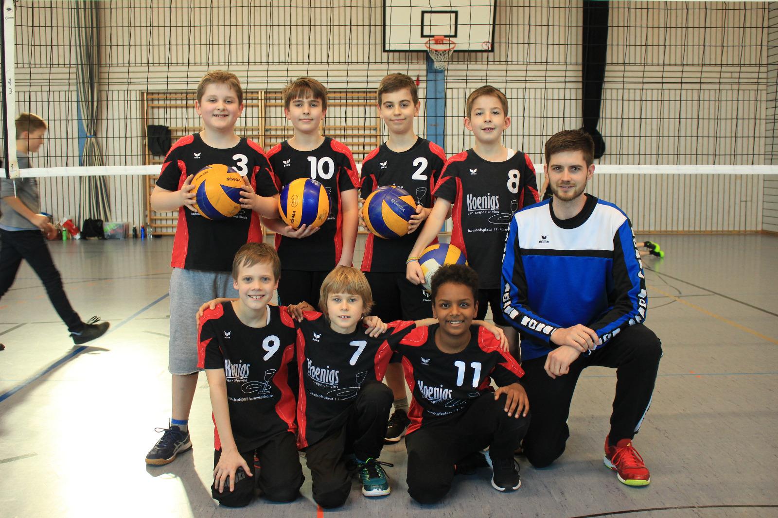 U13mnnlich 2019 SV Salamander Kornwestheim Volleyball