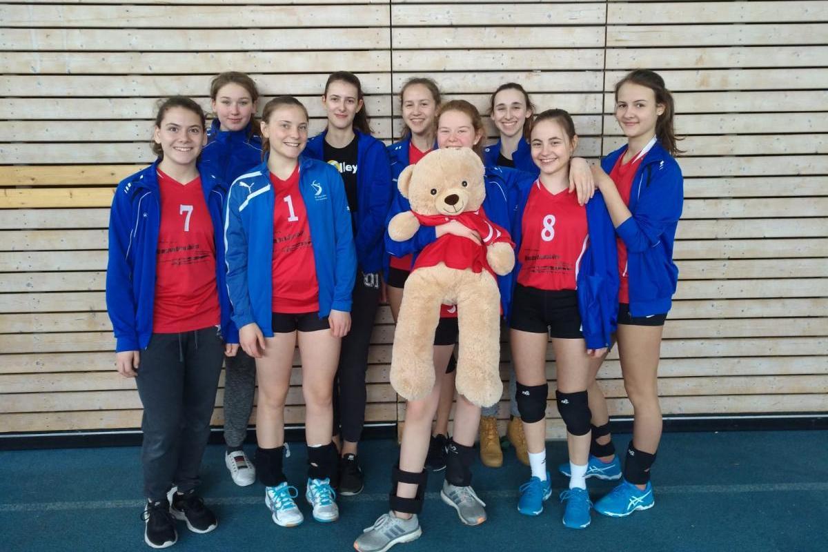 U18 2018 SV Salamander Kornwestheim Volleyball