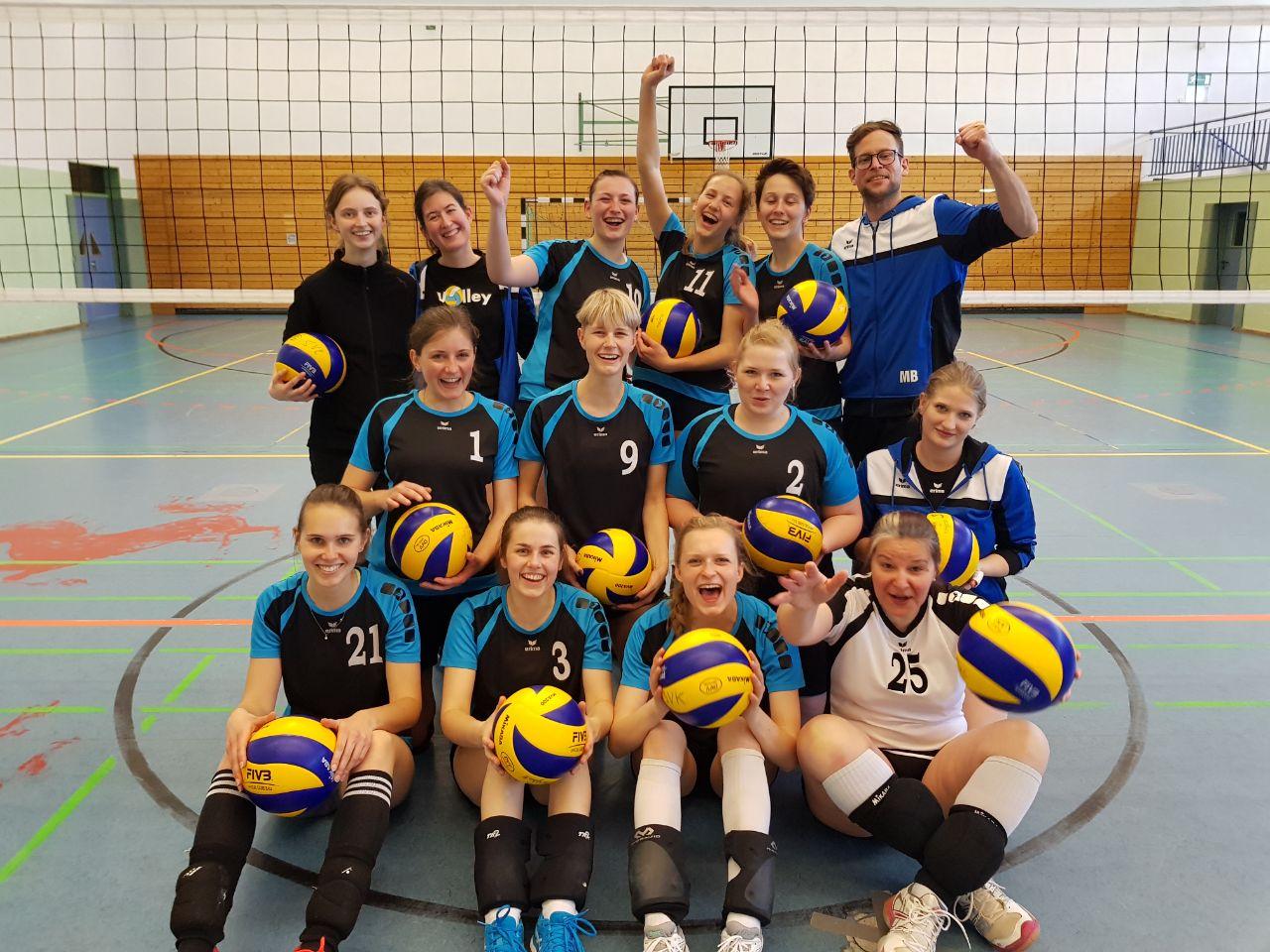 Damen2 Relegation 14.04.2018 Aufstieg sv salamander kornwestheim volleyball