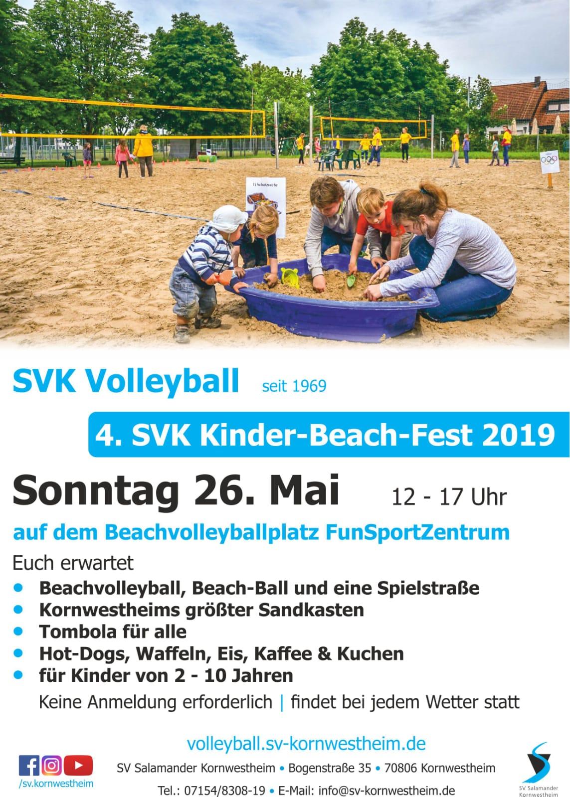 Kinderbeachfest 2019 Infoblatt