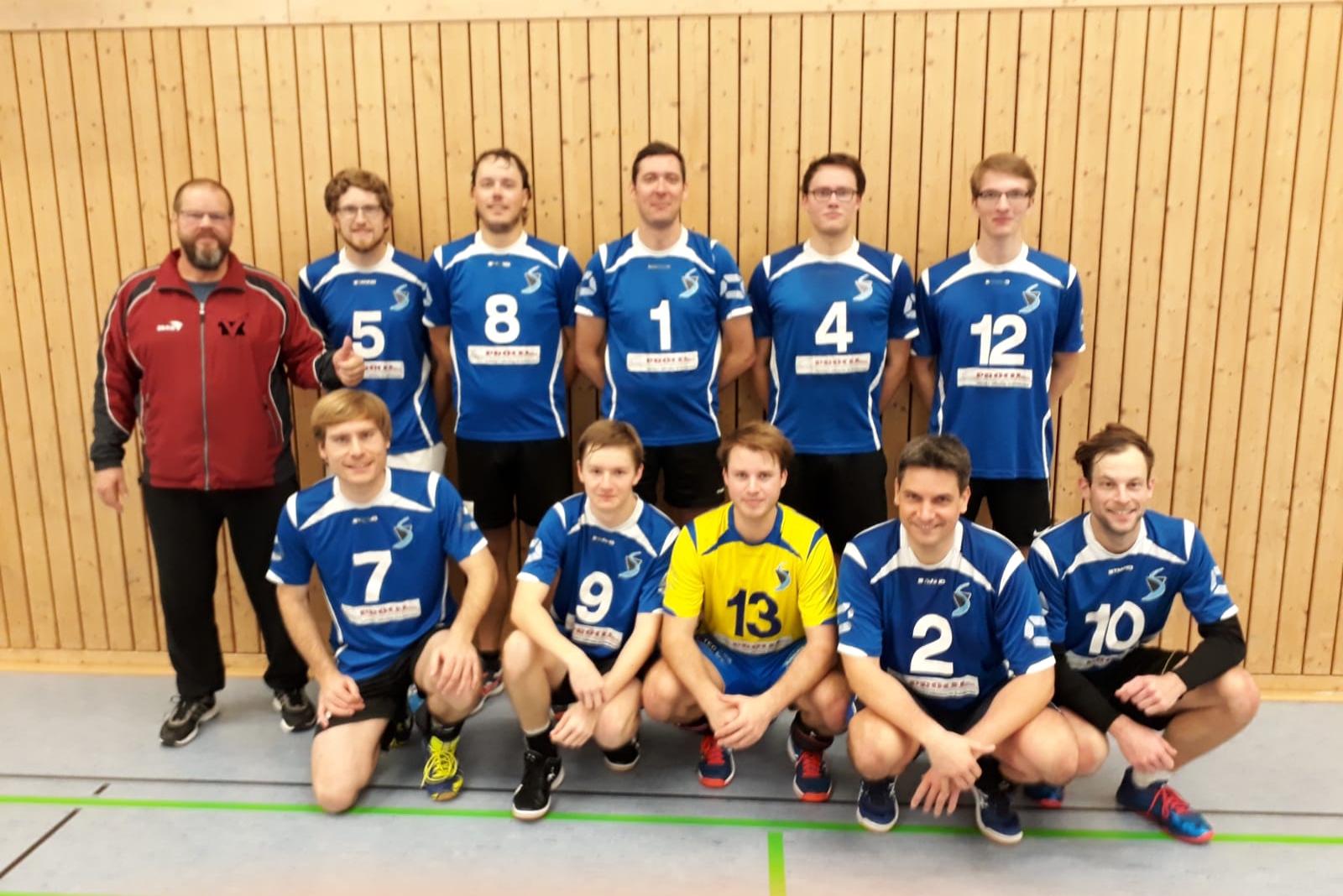 H2 Sieg Hausen 4.11.2018 SV Salamander Kornwestheim Volleyball