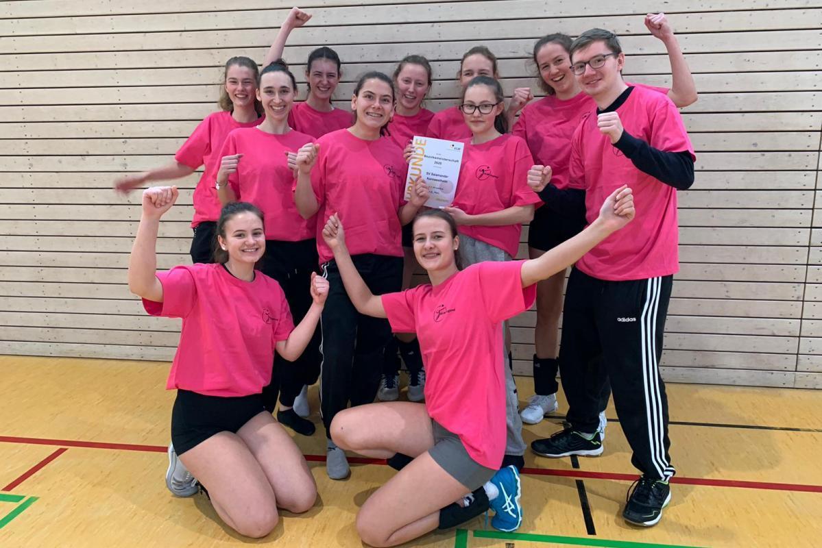 U20 Bezirksmeister 2020 SV Salamander Kornwestheim Volleyball