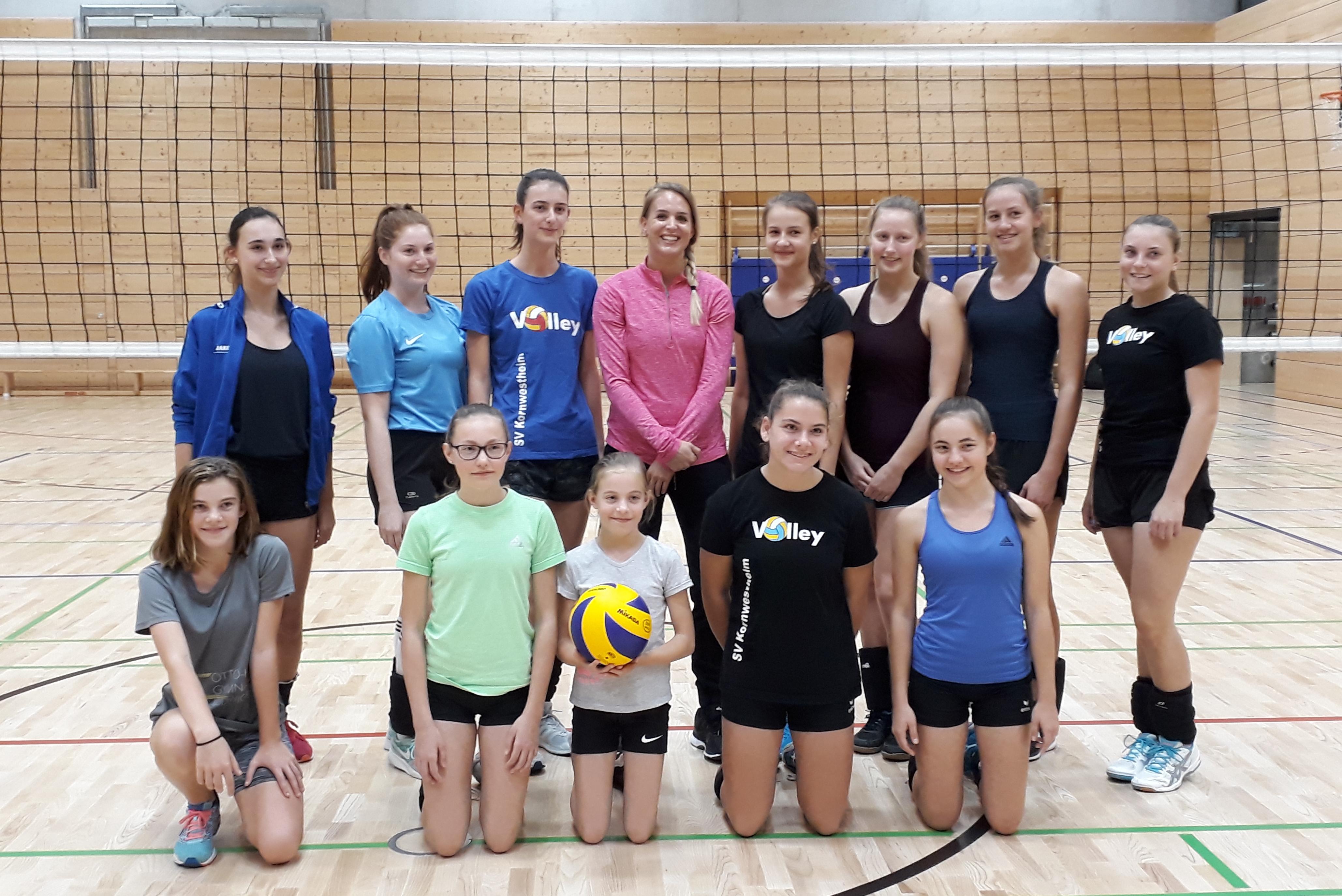 Training Kim Renkema 09102018 SV Salamander Kornwestheim Volleyball