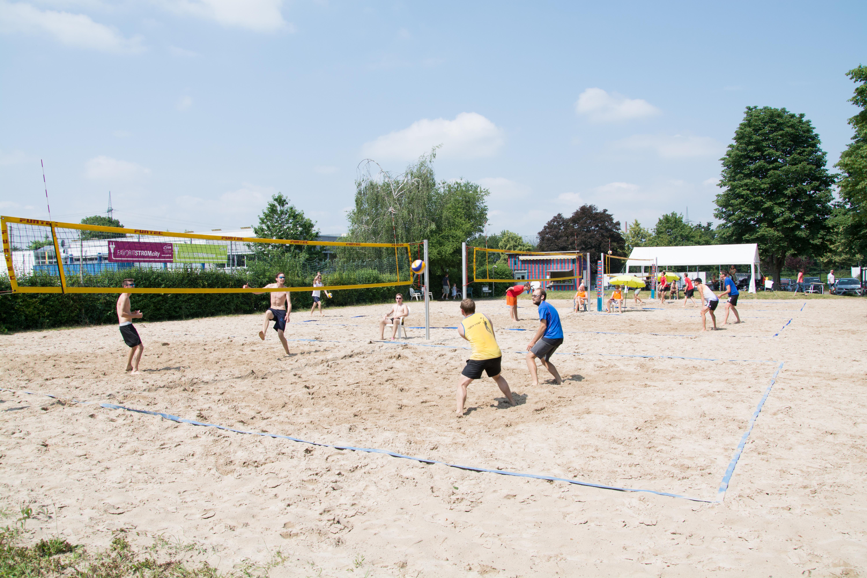 Beach C Turnier Volleyball SV Salamander Kornwestheim 09 06 2018 min