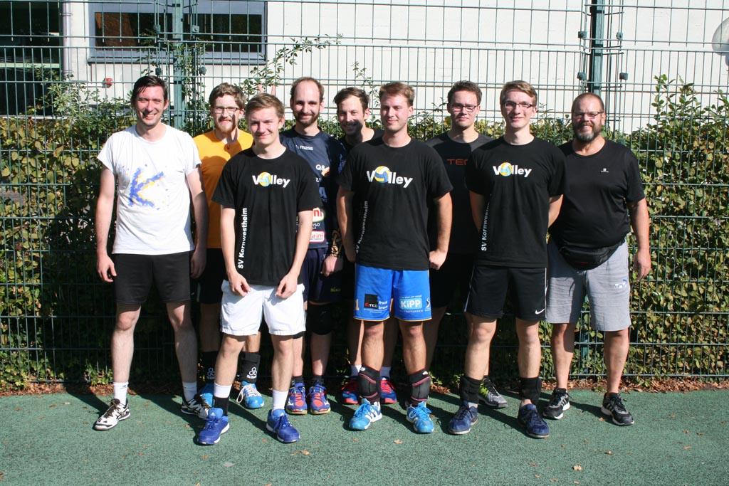 Herren 2 Sanwald Open 2018 Volleyball SV Salamander Kornwestheim