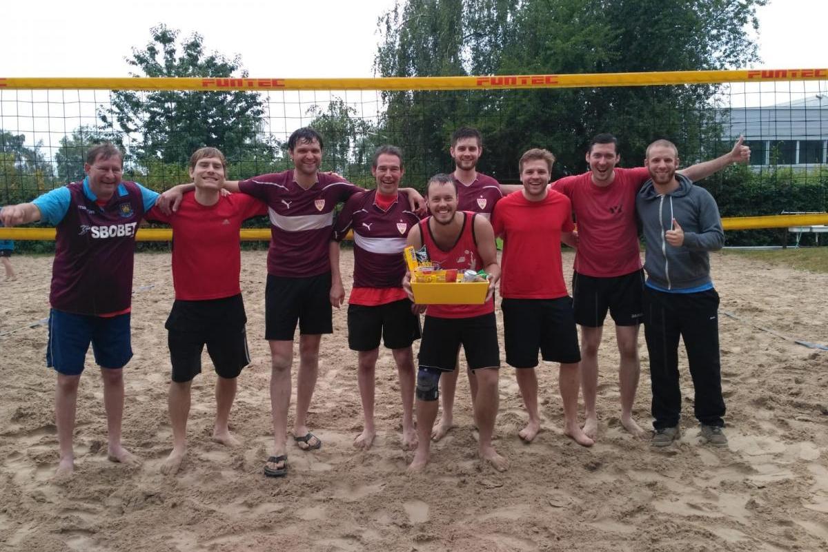 Fast Herren 1 Sieger Beachtriatholon 2018 Herren