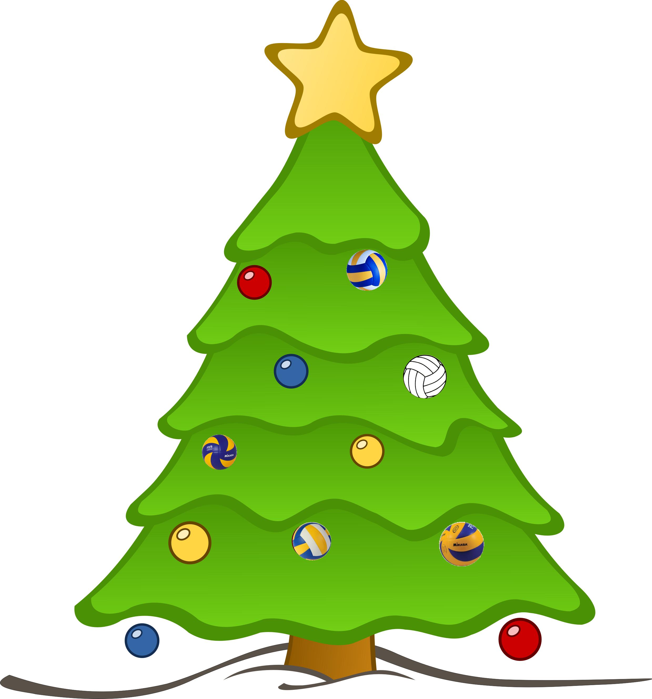 Volleyball Weihnachtsbaum
